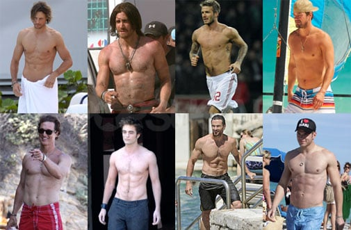 We're Down to the Elite Eight Hottest Shirtless Hunks!