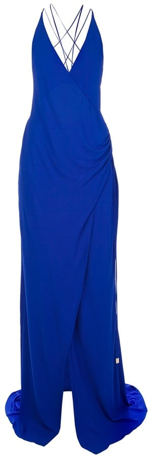 If you're looking to invest, this Dsquared2 Strappy Long Dress ($1,575) easily fits the requirements for an elegant black-tie affair with a gorgeous blue hue that will outlast seasons and trends.