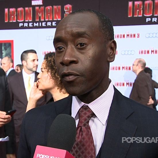 Don Cheadle Interview at Iron Man 3 Premiere (Video)