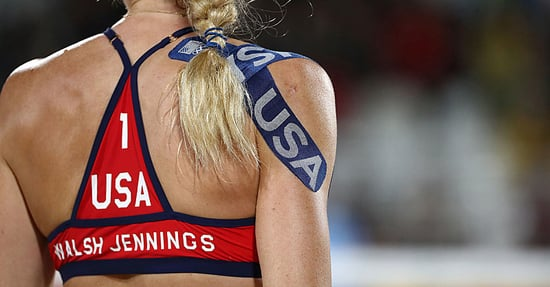 What's That Weird Athletic Tape Olympians Have All Over Their Bodies?