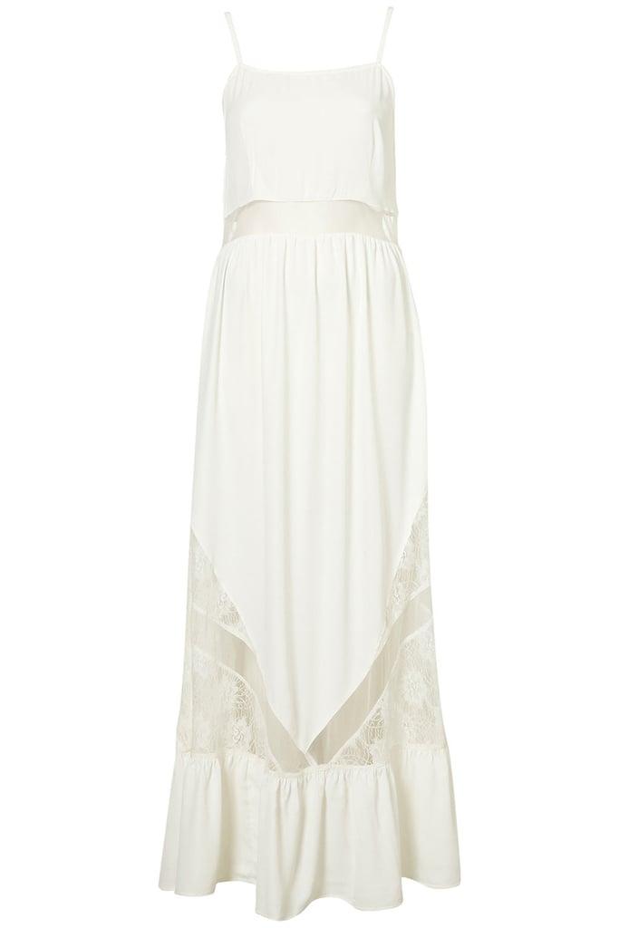 Topshop Lace Panel Maxi Dress ($100)