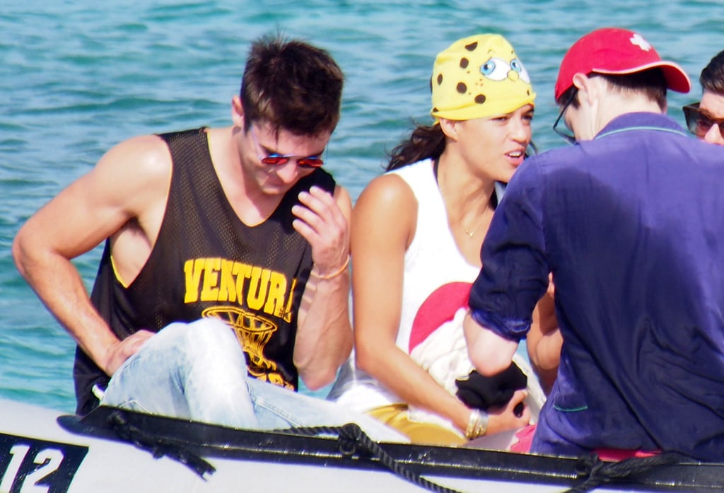 Zac Efron and Michelle Rodriguez's Summer of Fun and PDA Continues