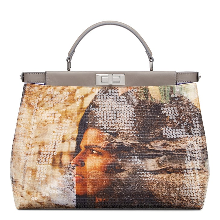 Georgia May Jagger's Fendi Peekaboo Bag