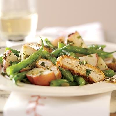 Easy Chicken Piccata Salad Recipe