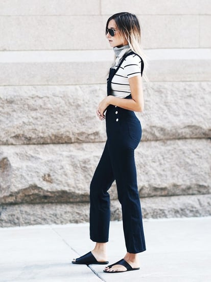 The Best Tops and Shoes to Wear With Overalls