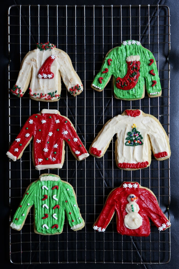 Ugly Sweater Cookie Kit in Action