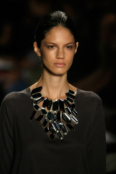 New York Fashion Week Trend Alert: Jeweled Necks