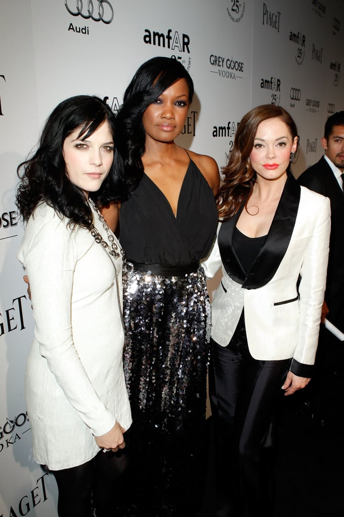 Selma Blair posed with Garcelle Beauvais and Rose McGowan.
