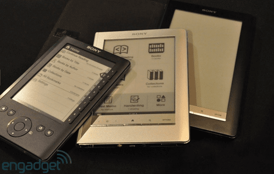 Sony Unveils Its New Reader Daily Edition Device