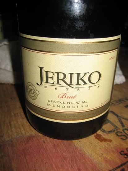 Happy Hour: Jeriko 2005 Brut Sparkling Wine (It's Organic!)