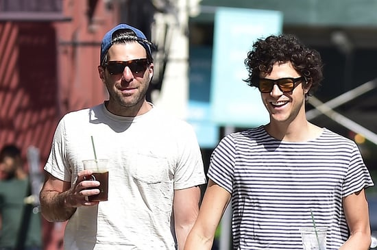 11 Times Zachary Quinto And Miles McMillan Were The Cutest Dog-Walking Couple Of All Time