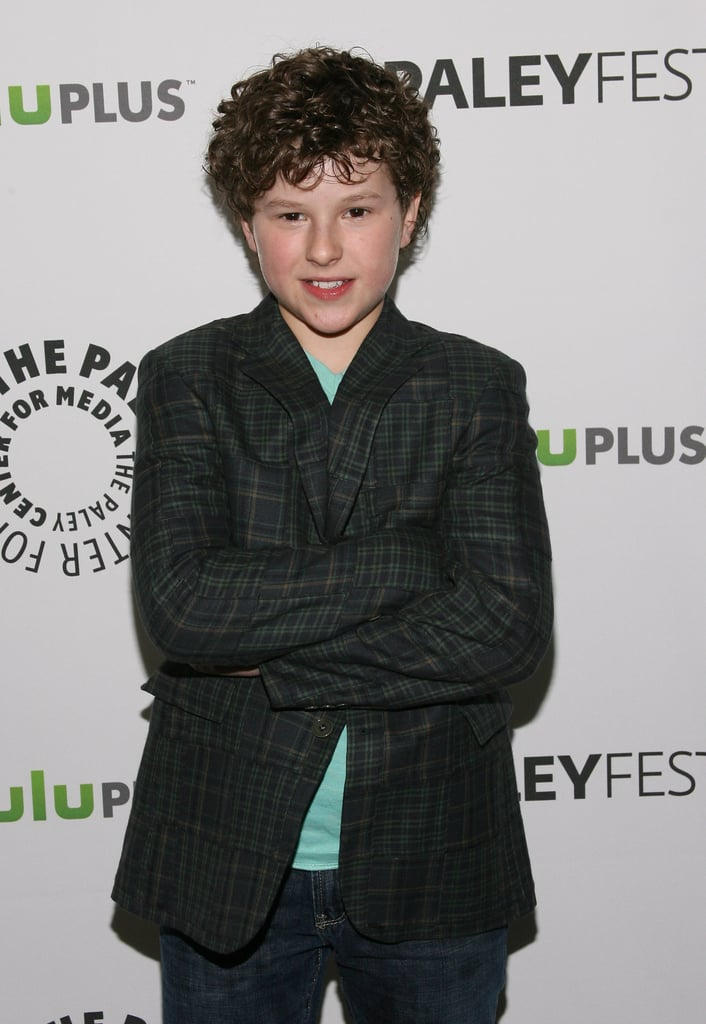 Nolan Gould at PaleyFest.