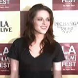 Kristen Stewart and Taylor Lautner at the Los Angeles Film Festival [Video] 2011-06-22 13:14:00