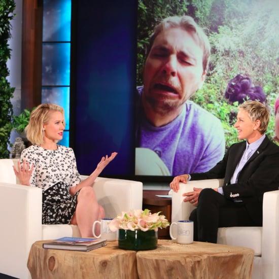 Kristen Bell on The Ellen Show April 2016