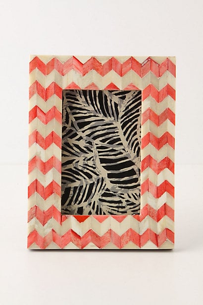 Anthropologie Chevron Frame