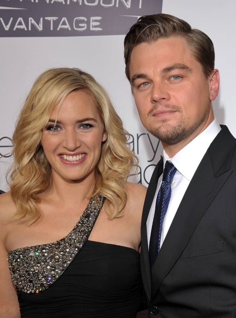 Leonardo DiCaprio reunited with Kate Winslet in 2008, stepping out on the red carpet at the LA premiere for their film Revolutionary Road.