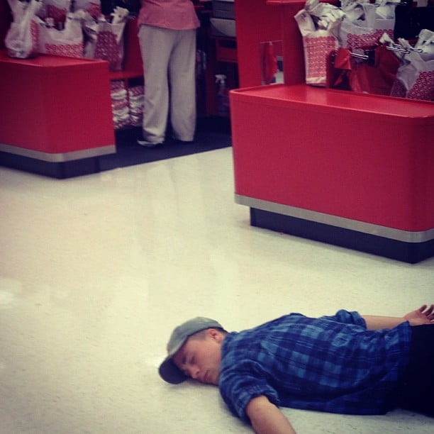 The Floor of This Target