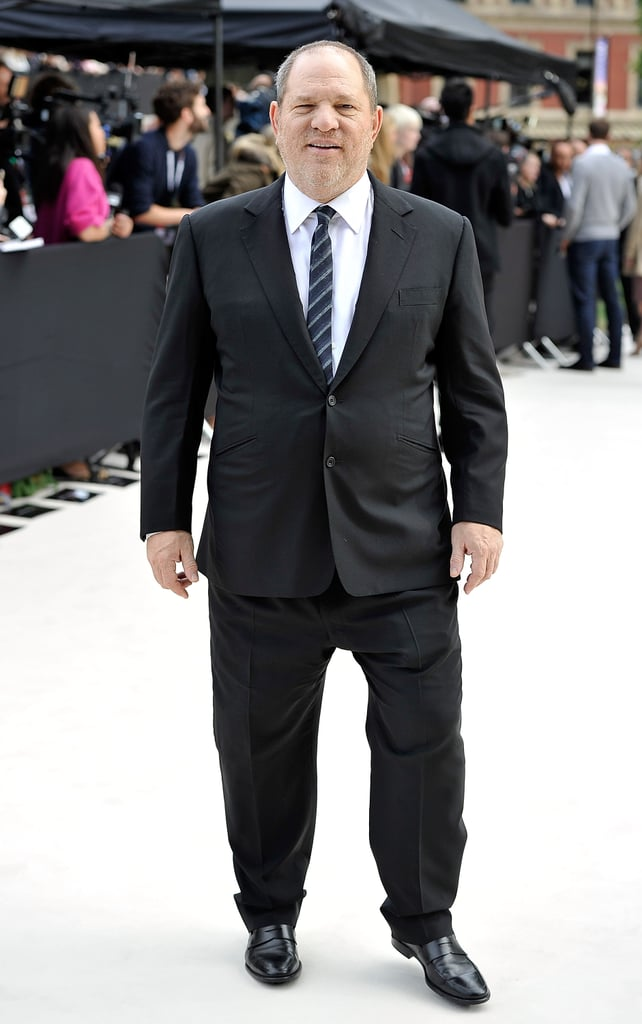 Harvey Weinstein at Burberry