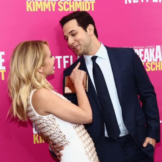 Anna Camp and Skylar Astin at Kimmy Schmidt Premiere 2016