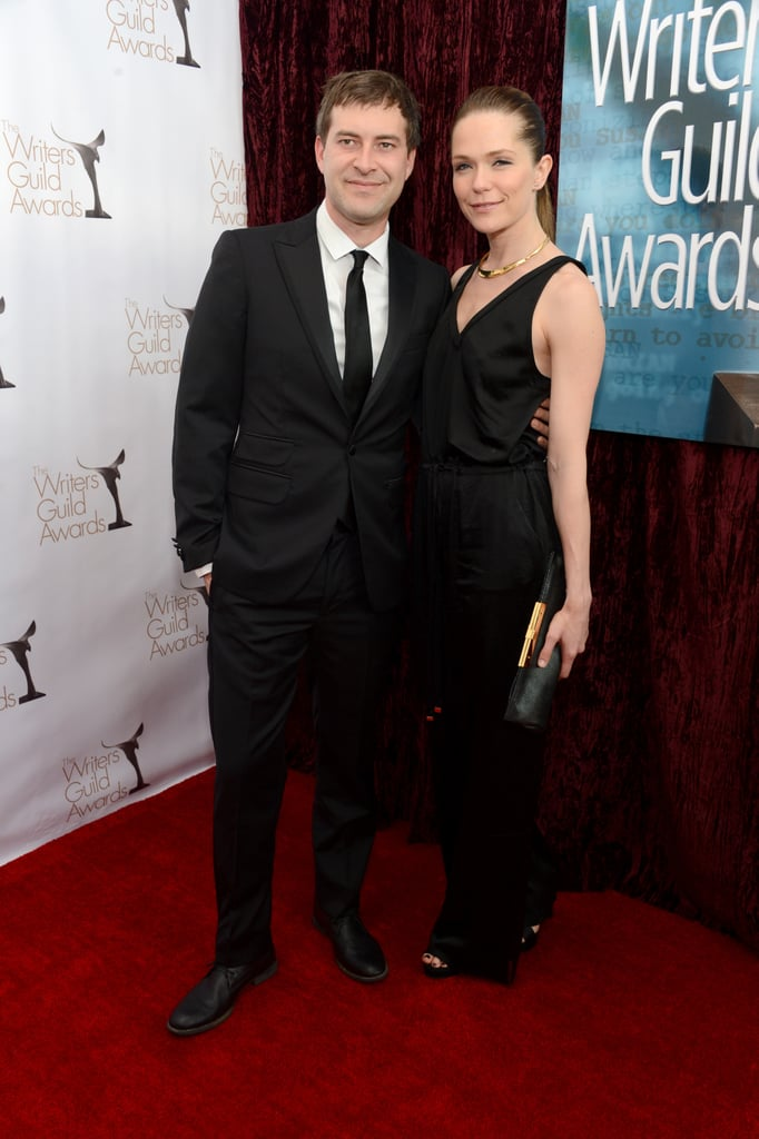 Mark Duplass and Katie Aselton walked the red carpet together in LA.
