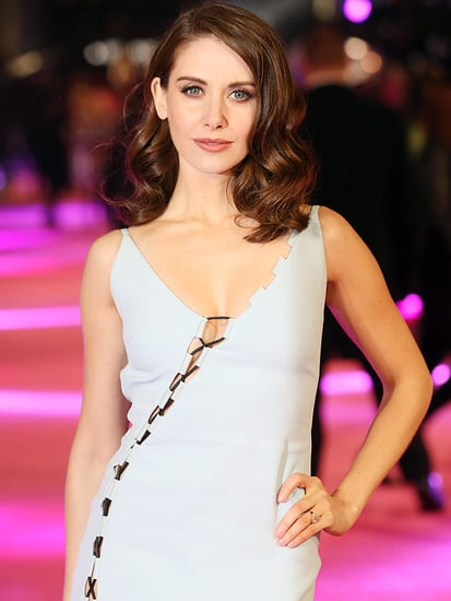Alison Brie's Wedding Dress Might Be From Net-a-Porter