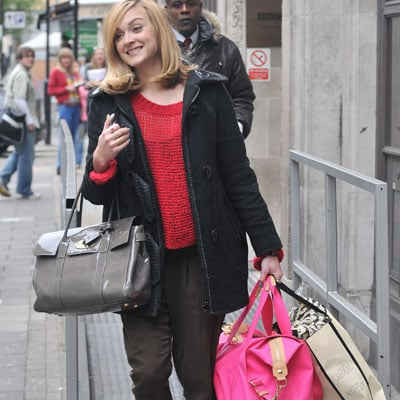 Fearne Cotton Carries A Mulberry Bag
