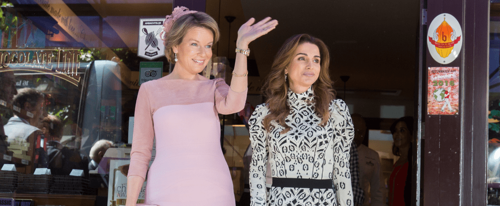 Queen Rania's Dress Is Nice, but We're Practically Drooling Over That Bag