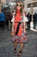 A little flamenco ruffle never hurt anyone, and Anna Dello Russo would certainly agree. Her latest boldly-printed outfit took ruffled hems to a new extreme, spotted at Giambattista Valli.