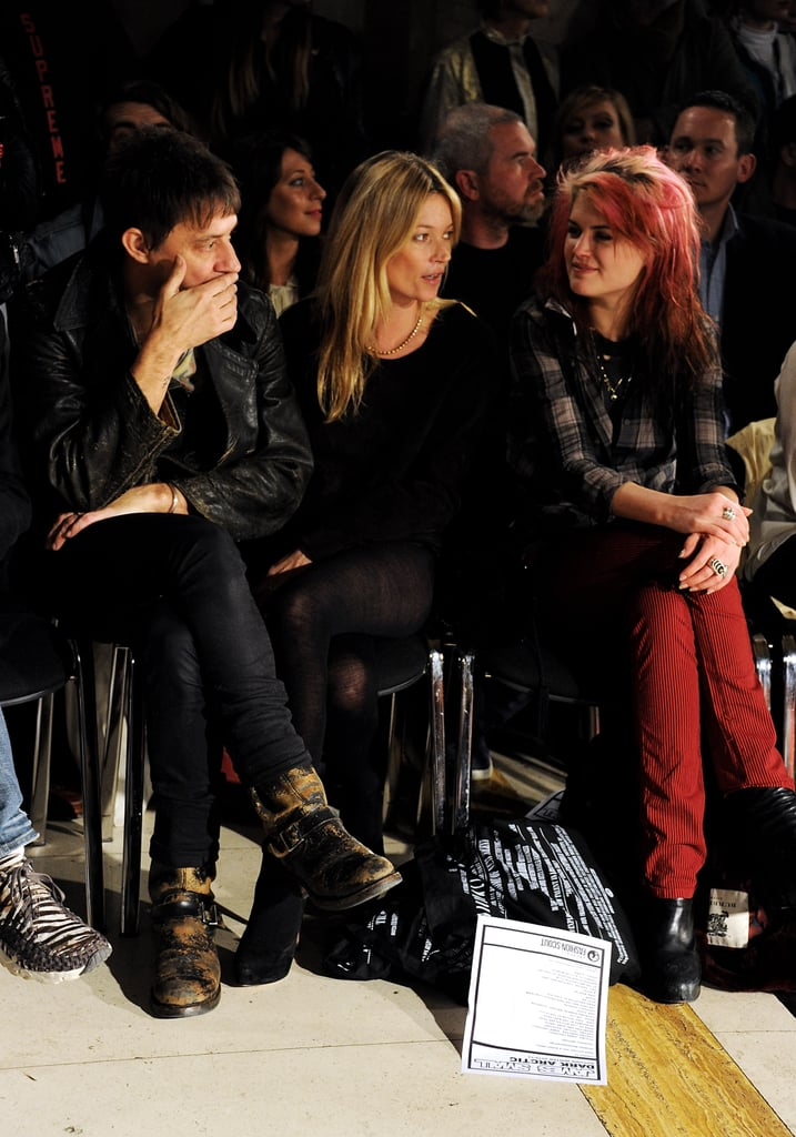 Kate Moss and Jamie Hince chatted with Alison Mosshart at James Small.