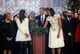 President Barack Obama and his family laughed together onstage at their TNT special, Christmas in Washington, which filmed in Washington, DC.