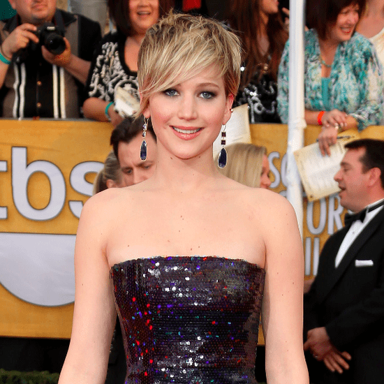 Jennifer Lawrence Ruined American Hustle Dress With Doritos