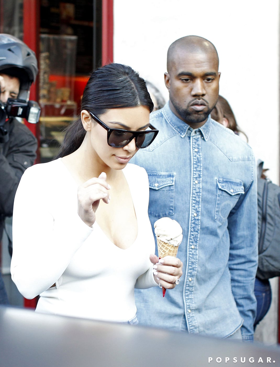 Who Screams For Ice Cream? Not Kanye