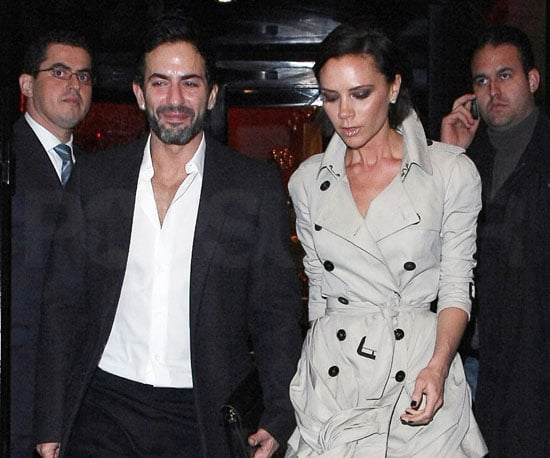 Slide Photo of Marc Jacobs and Victoria Beckham in Paris