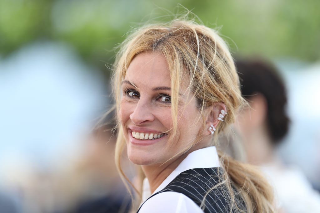 Julia Roberts Added Edge to Her Givenchy Suit With Some Ear Cuffs