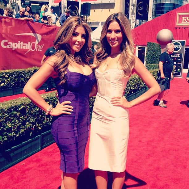 Renee Bargh wore an Alex Perry dress to cover the ESPY Awards red carpet. Source: Instagram user reneebargh