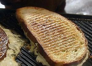 Mozzarella Grilled Cheese