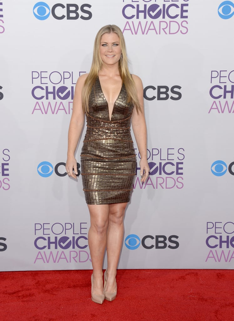 Alison Sweeney stepped out for the People's Choice Awards.