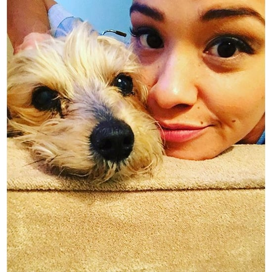 Gina Rodriguez's Dog Ted | Instagram