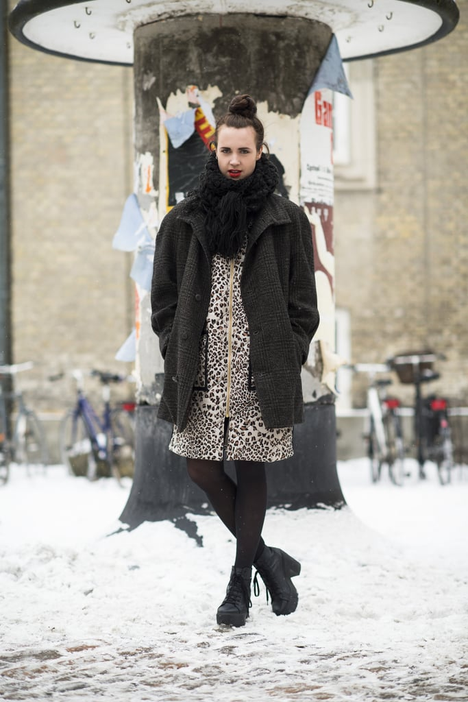 Layers and leopard print, need we say more? Source: Le 21ème | Adam Katz Sinding