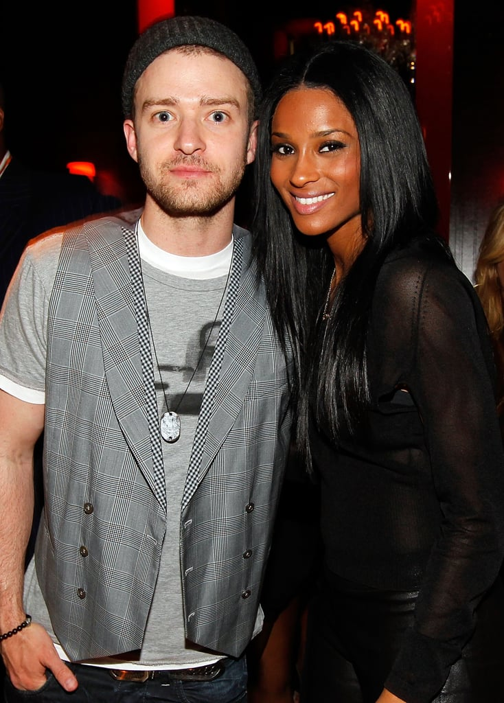 He snapped a photo with Ciara at Timbaland's April 2010 birthday bash in LA.