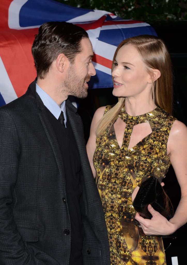 Kate Bosworth and Michael Polish chatted.