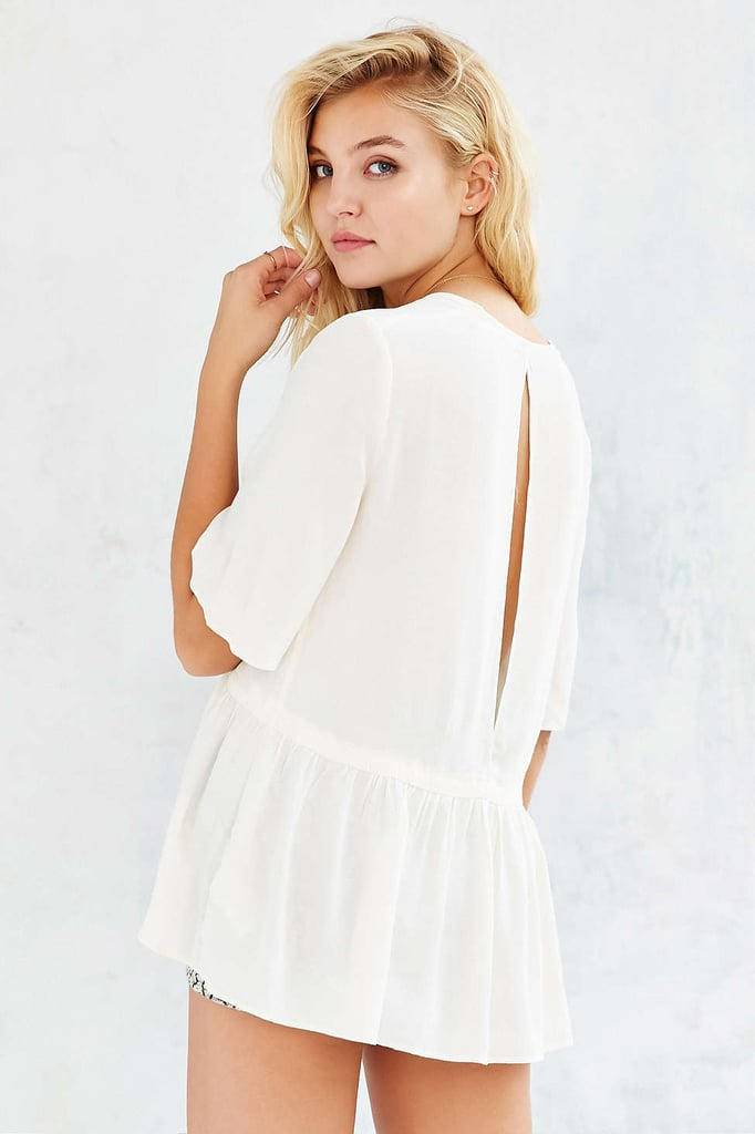Urban Outfitters Kimchi Blue Peplum Top ($59)
