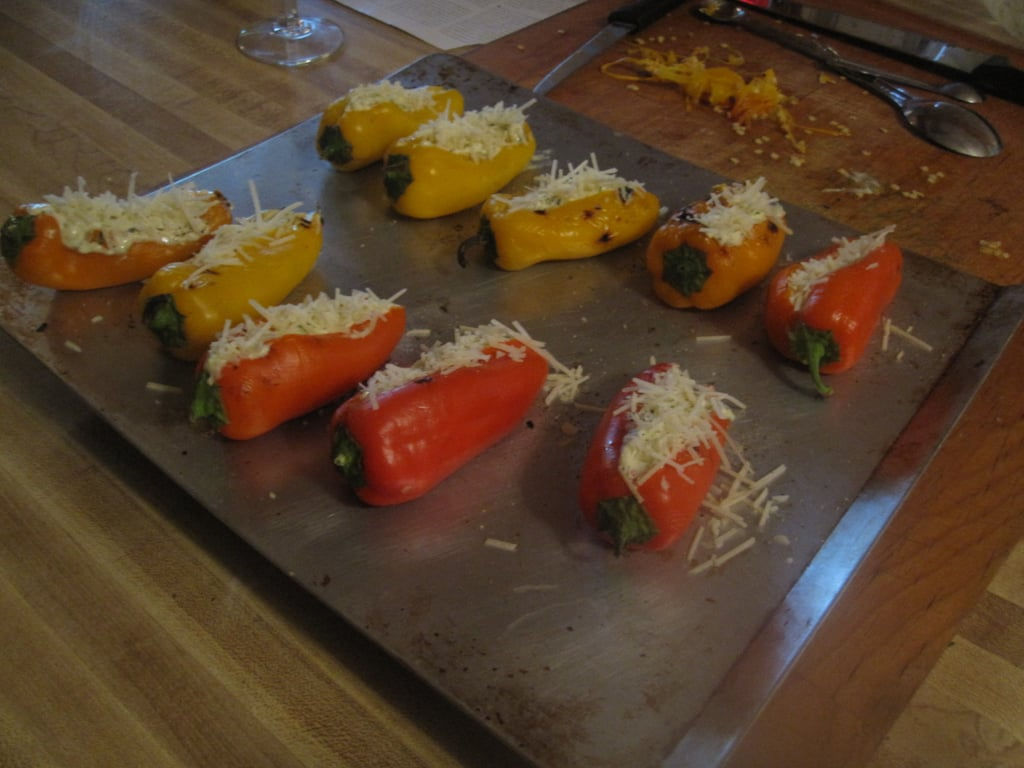 Peppers Stuffed With Feta