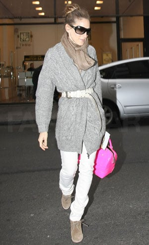 Sarah Jessica Parker Wearing Desert Boots in NYC