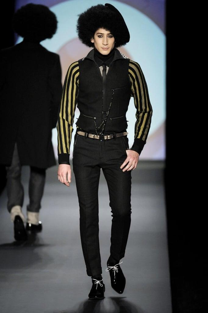 Paris: Jean Paul Gaultier Men's Fall 2009