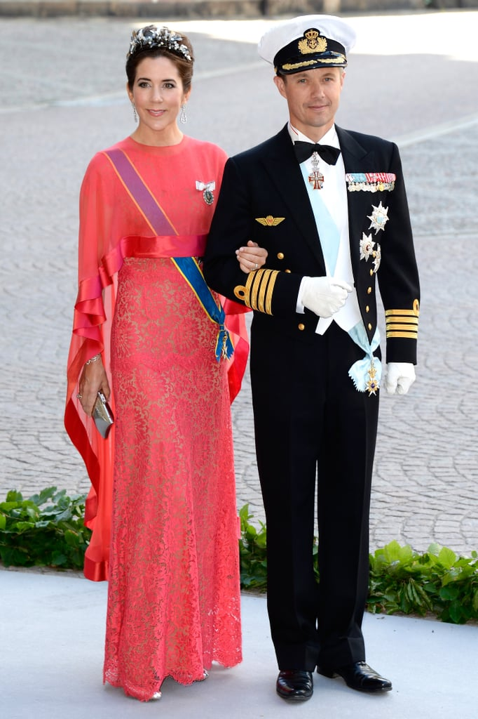 Princess Mary of Denmark and Crown Prince Frederik of Denmark attended Princess Madeleine of Sweden and Christopher O'Neill's wedding.