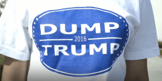 These Students Fought To Wear 'Dump Trump' Shirts To School