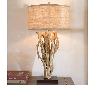 Love It or Hate It? Driftwood Table Lamp