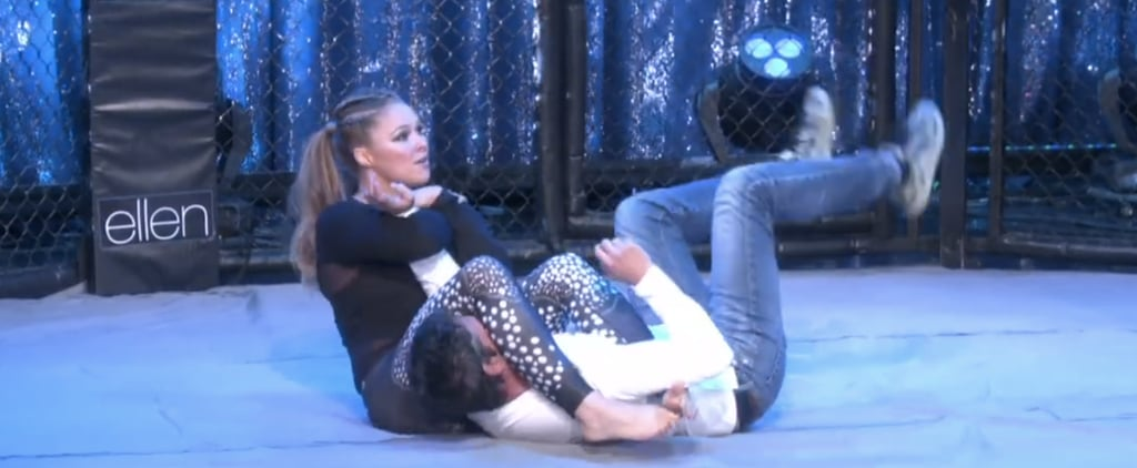 Ronda Rousey Takes Down an Ellen DeGeneres Producer, and It's Awesome