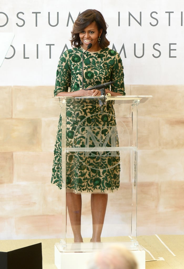 Michelle Obama Brings Anna Wintour to Tears Before Her Big Night